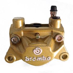 ปั๊มเบรค Brembo 2 port สีทอง