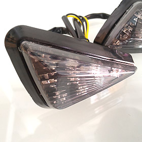 ไฟเลี้ยวแต่ง LED ทรงสามเหลี่ยม ใส่ MSX, ZOOMER-X