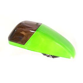 ไฟเลี้ยว หน้า KR-150 สีเขียว โคมสโมก