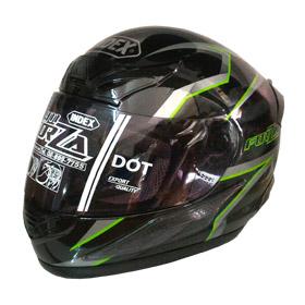 หมวกกันน็อค INDEX FORZA 911 รุ่นใหม่ สีดำเงา
