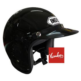 หมวกกันน็อค INDEX รุ่นคลาสสิค สีดำ