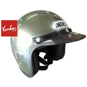 หมวกกันน็อค INDEX รุ่นคลาสสิค สีเขียวทหาร สีขี้ม้า